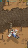 Landing on Tatooine