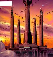 Jedi Temple dusk