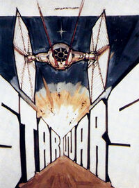 Joe Johnston Star Wars poster sketch
