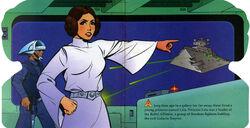 Leia points at Devastator PLRL