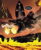 Vader on mustafar again