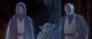 Force ghosts jedi