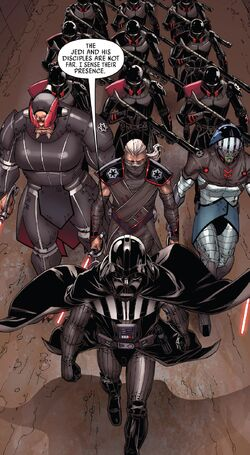 Vader and his army