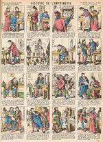 Imagerie d'Épinal n°3820 - histoire de l'imprimerie