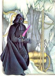 Vader at Echo Base pop-up