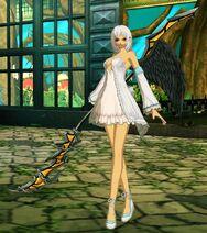 Angela Shining Ark Panis Crossover Costume