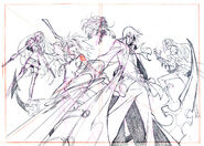 JPN OP - Group Sketch (via sega rh)