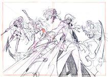 JPN OP - Group Sketch (via sega rh)