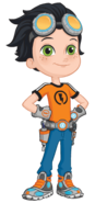 Rusty Rivets 2D Design
