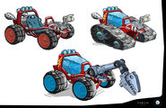 Rusty Rivets Spin Master Nickelodeon Vehicle Development Sketches 2