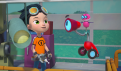 Rusty Rivets - Ray the Bit in Rusty Rocks 1