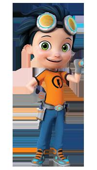 Nickelodeon Rusty Rivets botosaur