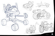 Rusty Rivets Spin Master Nickelodeon Ruby's Vehicle Development Sketches 2