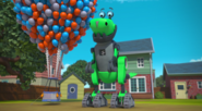 Rusty Rivets - Botasaur in Rusty's Balloon Blast 1