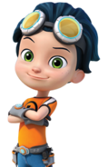 Rusty Rivets Character