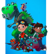 Rusty Rivets Original Character Designs