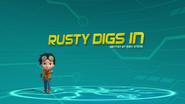 Rusty Digs In