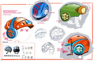 Rusty Rivets Spin Master Nickelodeon Helmet Development Sketches
