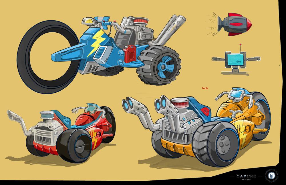 Image - Rusty Rivets Spin Master Nickelodeon Vehicle Development ...