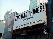 END BAD THINGS!