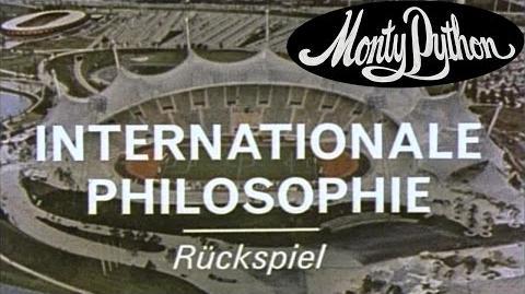 Philosophers Football - Monty Python's Fliegender Zirkus