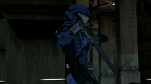 Blue soldier tomohawk