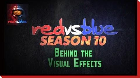 Behind the Scenes Visual Effects - Red vs. Blue Season 10