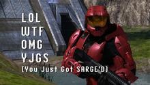 Sarge explains Internet lingo YJGS