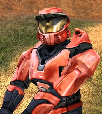 Halo CE Red Armor