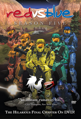 Official Red vs. Blue Season 5 DVD cover.