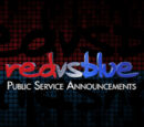 Red vs. Blue: Public Service Announcements