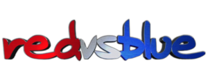 Red-vs-blue-3D-logo