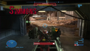 Simmons firefight with Grif