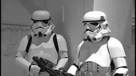 Injured Stormtrooper-Star Wars parody