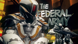 Federal Army - CG Graphic