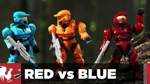 Coming up next on Red vs Blue Season 14 – The Brick Gulch Chronicles