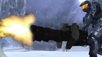Tex firing Heavy Machine Gun