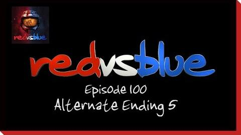 Alternate Ending 5 - Episode 100 - Red vs