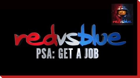 Get a Job PSA – Red vs. Blue Season 12