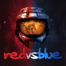 Red vs Blue Logo