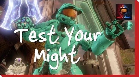 Test Your Might - Episode 8 - Red vs