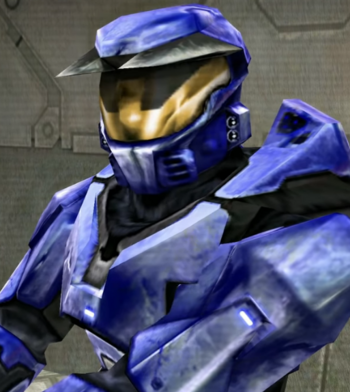 Halo CE Blue Armor