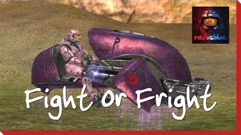 Fight or Fright - Episode 60 - Red vs. Blue Season 4