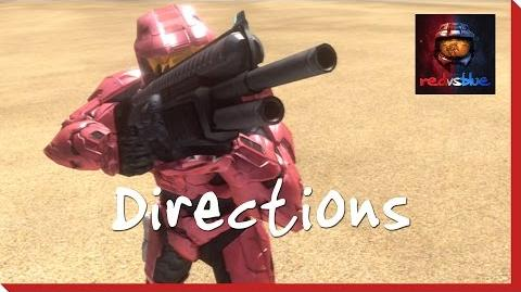 Directions - Chapter 8 - Red vs. Blue Season 7