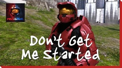 Don't Get Me Started - Chapter 1 - Red vs
