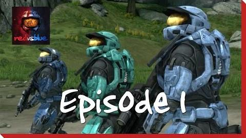 Episode 1 - Where There's a Will, There's a Wall - Red vs. Blue Mini-Series