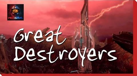 Great Destroyers - Episode 18 - Red vs. Blue Season 13