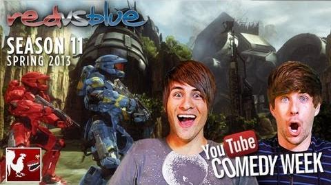 Comedy Week Red vs. Blue Season 11 Teaser featuring Smosh