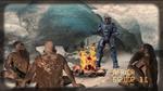 Caboose teaches cavemen