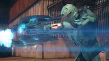 Carolina firing Plasma Rifles